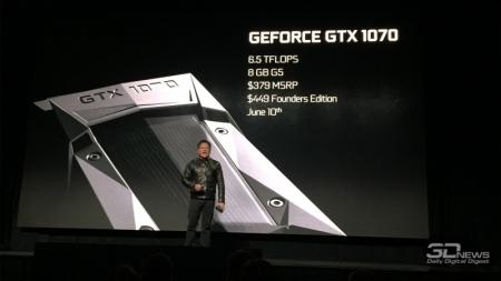 GeForce GTX 1070: фото печатной платы и данные о лимите мощности