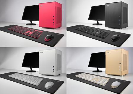 Алюминиевое разноцветье: Lian Li снабдит PC-Q34 комплектом из клавиатуры и мыши