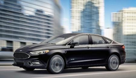 Гибрид 2017 Ford Fusion Energi обеспечит запас хода почти в 1000 км