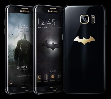 Samsung Galaxy S7 edge Injustice Edition для супергероев выйдет в июне