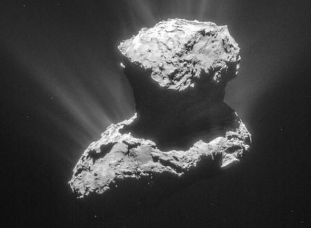 На комете Чурюмова-Герасименко обнаружены «кирпичики жизни»