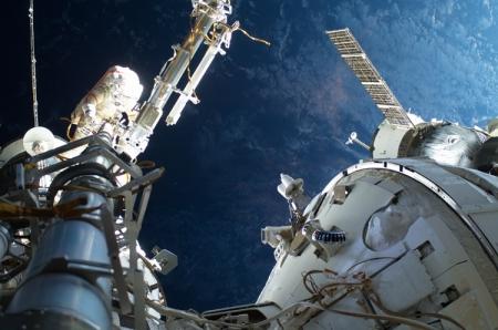 На МКС появится робот для работ в открытом космосе
