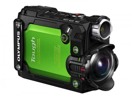 Olympus анонсировалаStylus TG-Tracker—свою первую экшен-камеру