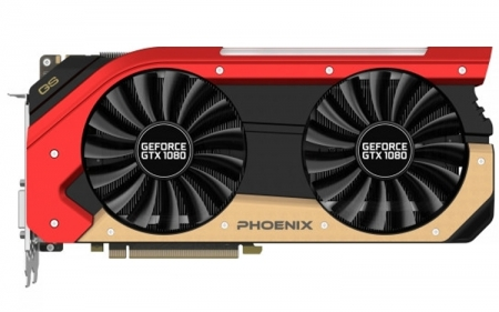 Трио ускорителей Gainward GeForce GTX 1080 Phoenix с разгоном и без