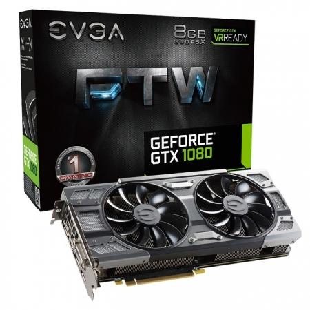 EVGA анонсировала пять ускорителей GeForce GTX 1080