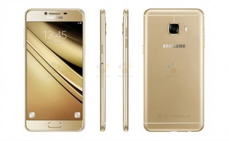 Опубликованы пресс-фото смартфона Samsung Galaxy C5