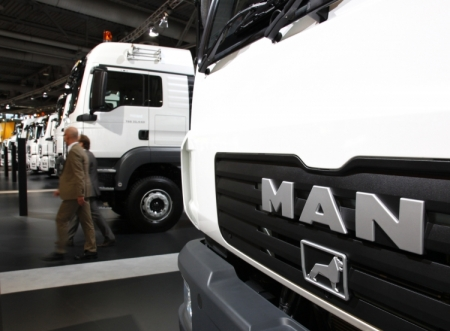 Volkswagen хочет сэкономить 1 млрд евро на слиянии Man и Scania