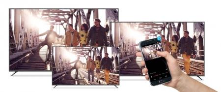 «Умные» 4K-телевизоры Polaroid поддерживают платформу Google Cast