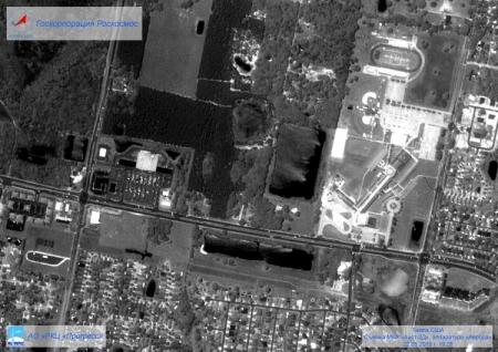 Фото дня: Земля глазами спутника «Аист-2Д», запущенного с космодрома Восточный