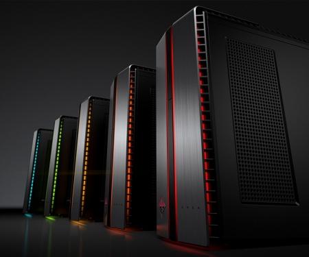 Настольный компьютер HP Omen подходит для VR-систем
