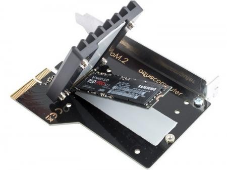 Комплект Aqua Computer превратит SSD в формате M.2 в PCIe-накопитель