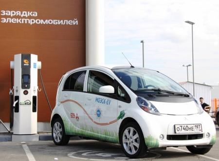 Продажи электромобилей в Москве увеличились на 75%
