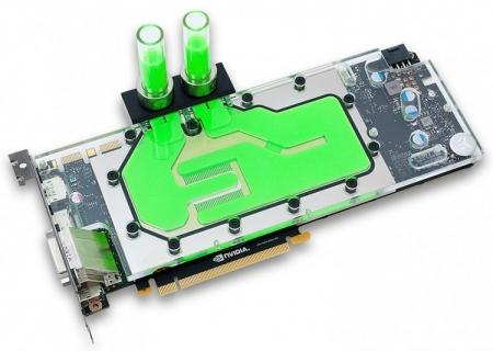EK представила водоблок для GeForce GTX 1080