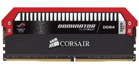 Corsair Dominator Platinum ROG Edition: комплект DDR4-памяти ёмкостью 16 Гбайт