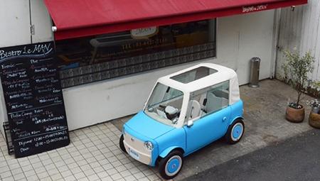Крошечный электромобиль Rimono получит пластиковый кузов