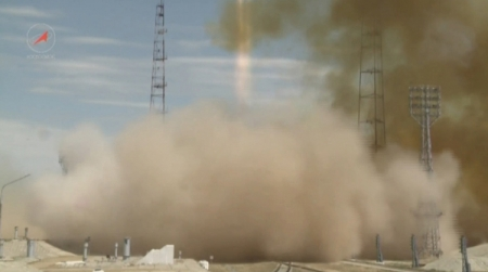 Осуществлён успешный запуск ракеты «Протон-М» со спутником Intelsat