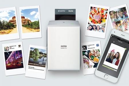 Fujifilm представила новый фотопринтер для смартфонов Instax Share SP-2