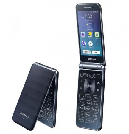 Смартфон-раскладушка Samsung Galaxy Folder 2 получит чип Snapdragon 425