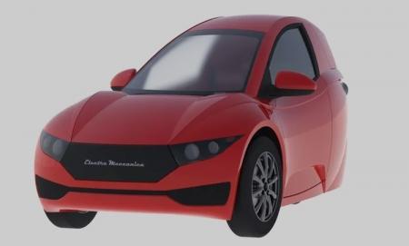 Electra Meccanica Solo: сверхкомпактный трёхколёсный электромобиль