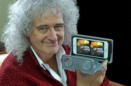 Гитарист Queen выпустил собственные VR-очки