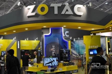 Computex 2016: видеокарты и мини-компьютеры на стенде Zotac