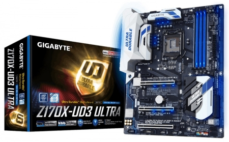 Gigabyte официально представила плату GA-Z170X-UD3 Ultra