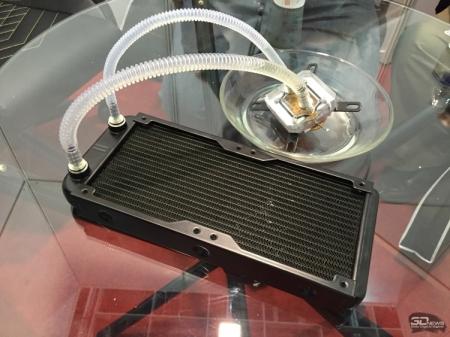 Raijintek показала на Computex первую жидкостную систему охлаждения без помпы