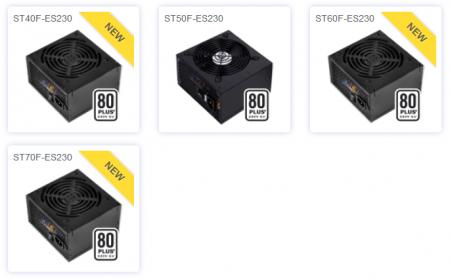 SilverStone выпустила блоки питания Strider Essential для сетей 230 В