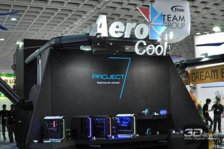 Computex 2016: яркие экспонаты AeroCool