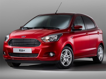 Ford KA+: компактный хэтчбек с заявленным расходом топлива 5 л на 100 км