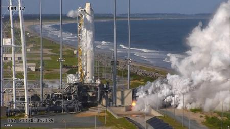 Успешно испытаны российские двигатели для ракеты Antares