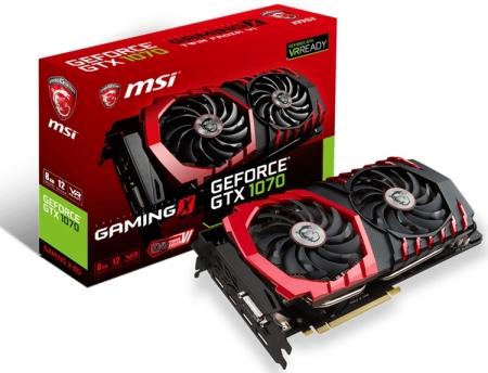 Ускоритель MSI GeForce GTX 1070 Gaming X 8G предлагает три режима работы