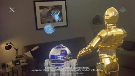 Видео дня: Magic Leap и Lucasfilm создают AR-окружение по мотивам «Звёздных войн»
