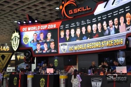 Computex 2016: рекорды на стенде G.Skill