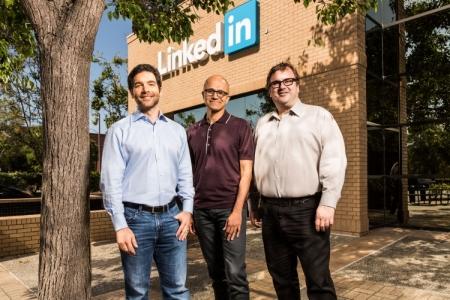 Microsoft заявила о поглощении LinkedIn за $26,2 млрд