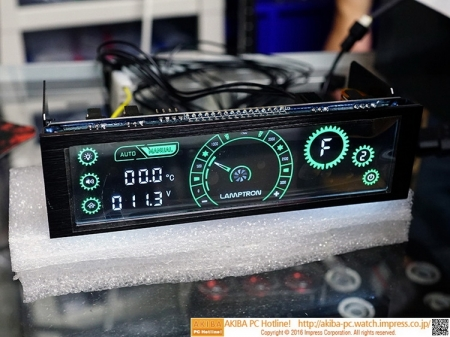 Новый реобас Lamptron CM430 поддерживает сенсорное управление