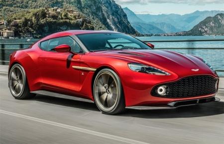 Aston Martin выпустит концепт Vanquish Zagato ограниченной серией