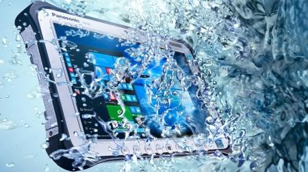 Обновлённый планшет Panasonic Toughpad FZ-G1 предлагает до 14 часов автономности