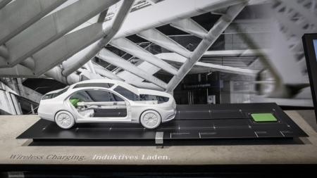 Гибрид Mercedes S550e получит поддержку беспроводной подзарядки