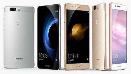 Смартфон Huawei Honor 8 выйдет в версиях с дисплеем Full HD и Quad HD