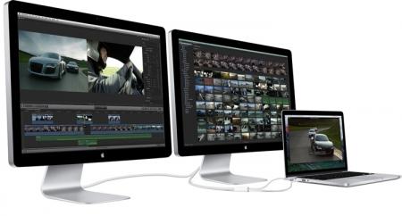 Новому монитору Apple Thunderbolt приписывают наличие собственной графики