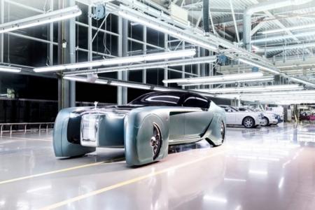 Rolls-Royce 103EX: концепт-кар для дорог будущего