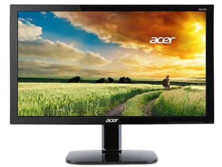 Acer представила новые мониторы с временем отклика в 1 мс