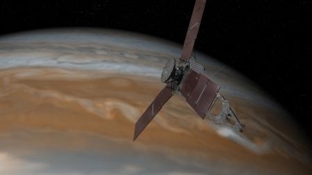 Станция «Юнона» достигла окрестностей Юпитера
