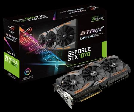 ASUS ROG Strix GeForce GTX 1070: детали конструкции и разгонный потенциал