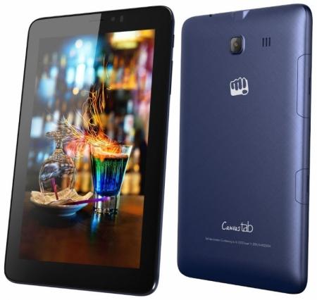 Micromax Canvas Tab P701: бюджетный планшет с функциями телефона