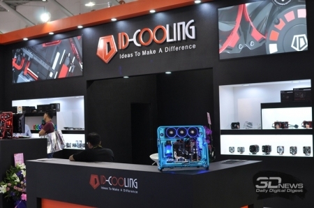Computex 2016: ID-Cooling сделала корпуса частью СЖО