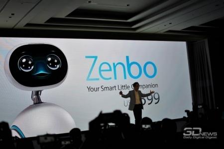 Робот ASUS Zenbo поступит в продажу только в следующем году