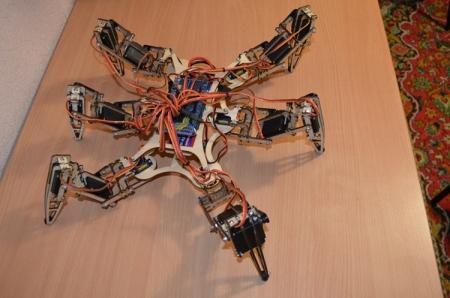 Российский робот-паук поможет при спасательных и разведывательных операциях