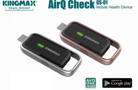 Карманный прибор Kingmax AirQ расскажет, чем вы дышите